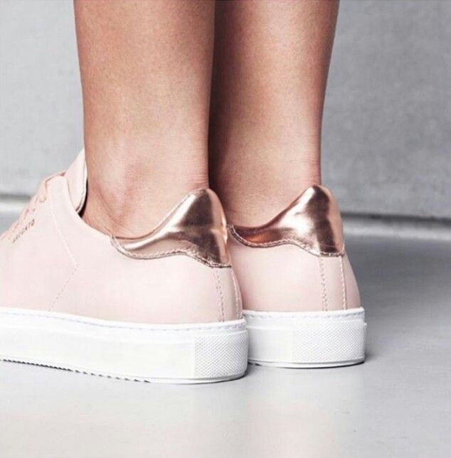 gold and pink sneakers ☆