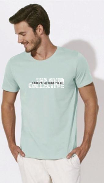 Barcelona Men's Organic Cotton T Shirt Nothin' but Good Vibes