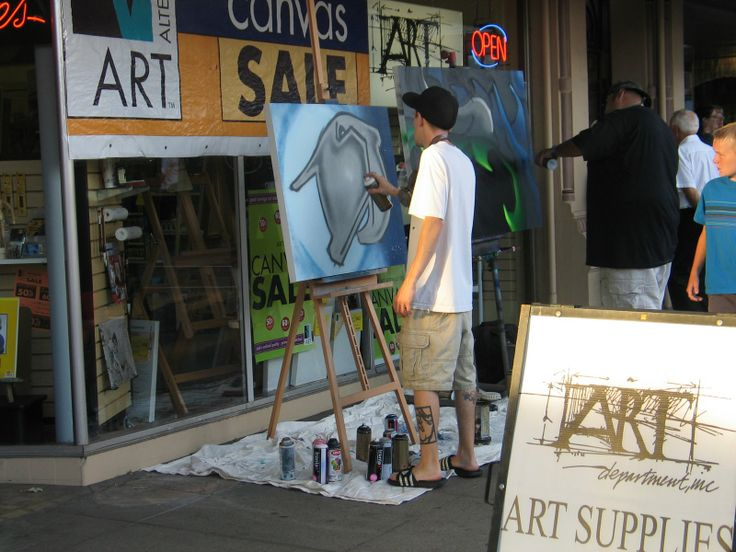 Art department art open art creative event