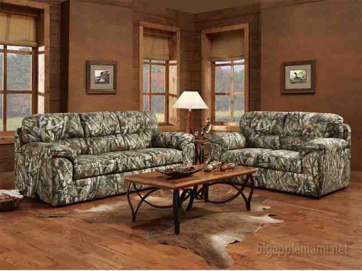 nice Camo Living Room Suit