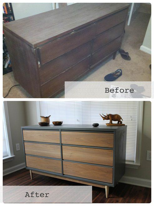Chic, Salvaged Mid-Century Modern Furniture by Revitalized