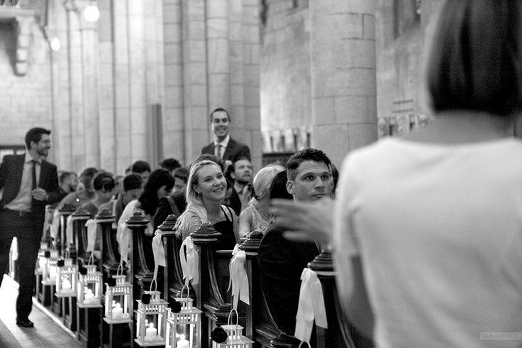 #church #aisle #lantern #roses #original #wedding