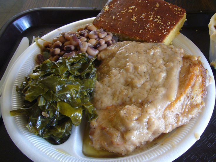 Smothered pork chops are an old-fashioned Southern favorite. It's a very easy dish to prepare and packed with tons of flavor. The onion gravy goes especially well with rice.