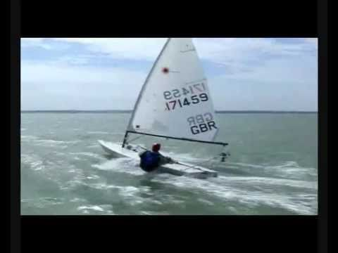 Laser class | Extreme sailing video
