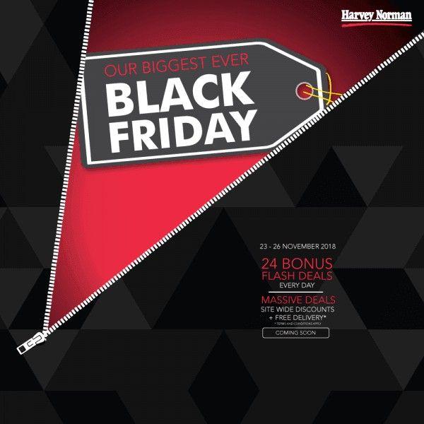 23 26 Nov 2018 Harvey Norman Black Friday Sales Black Friday Harvey Norman Black Friday Sale