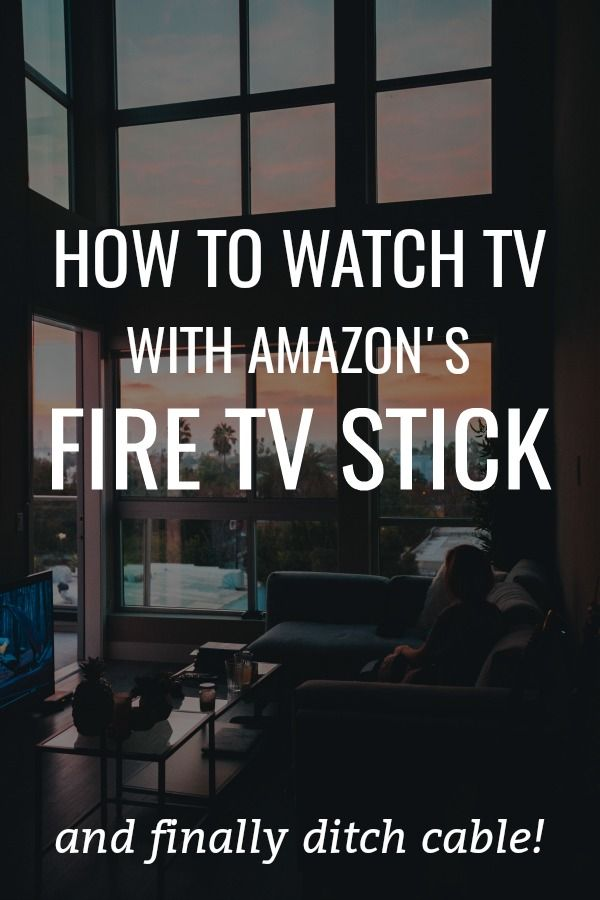 How to watch TV (and ditch cable) with Amazon's Fire TV Stick!