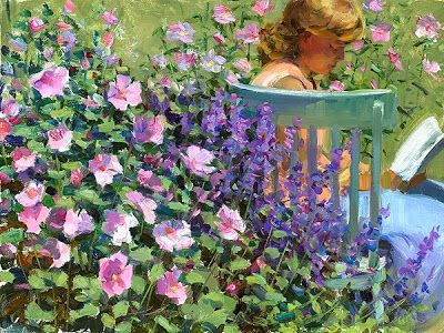 Reading and Art: Jeffrey T. Larson