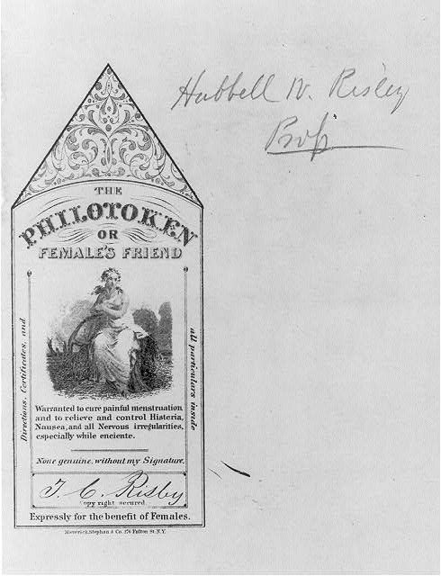 Library of congress vintage labels