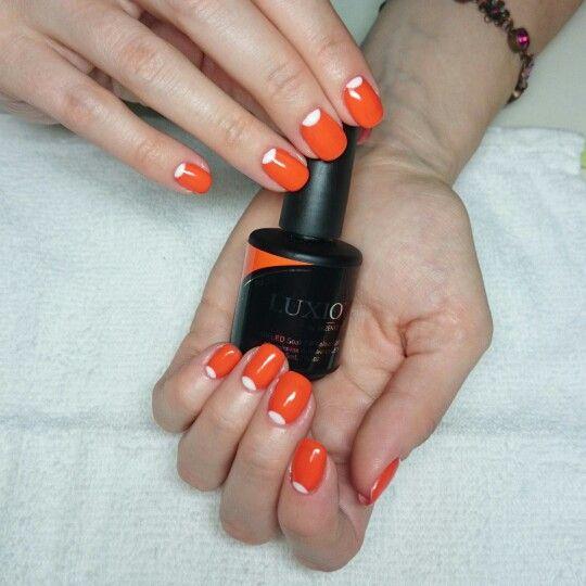 Комбинированный #маникюр, покрытие гель-лаком #Luxio Pulse, лунный дизайн  #гельлак #шеллак #nailart #naildesign #nails #monaco_nails #комендантский #приморскийрайон #ногти_спб #Спб #дизайнногтей #красивыеруки #идеальныйманикюр