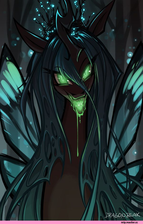 Queen Chrysalis she is literally so cool.