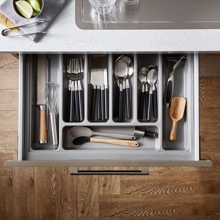 Silver cutlery tray to suit upgrade drawers