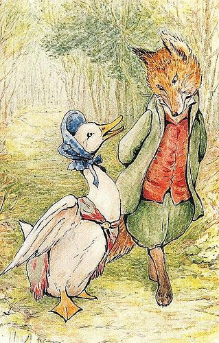 """""""The Tale of Jemima Puddle-Duck"""" Written by Beatrix Potter - An English Fairy Tale (1908)"""