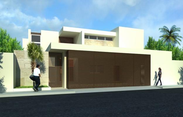 Fachadas de cocheras para casas pequenas for Fachadas de casas modernas wikipedia