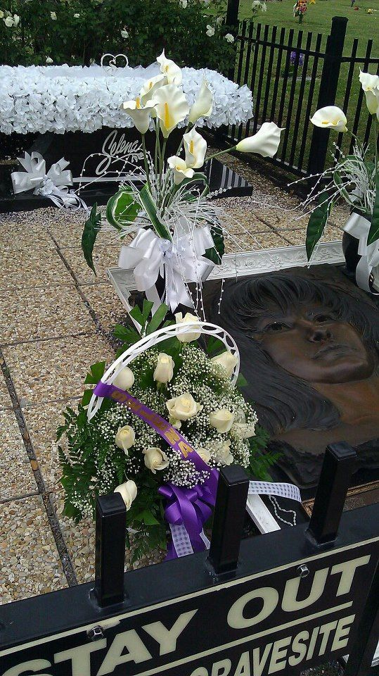 Selena's final resting place you can visit when you come to Corpus Christi. We miss you Selena.