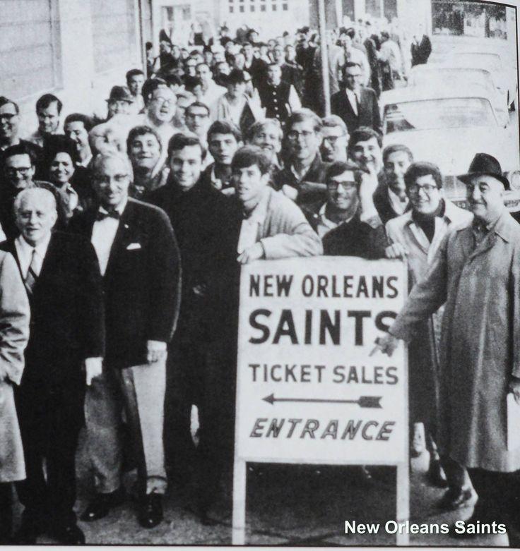 1966 Saints tickets went on sale.