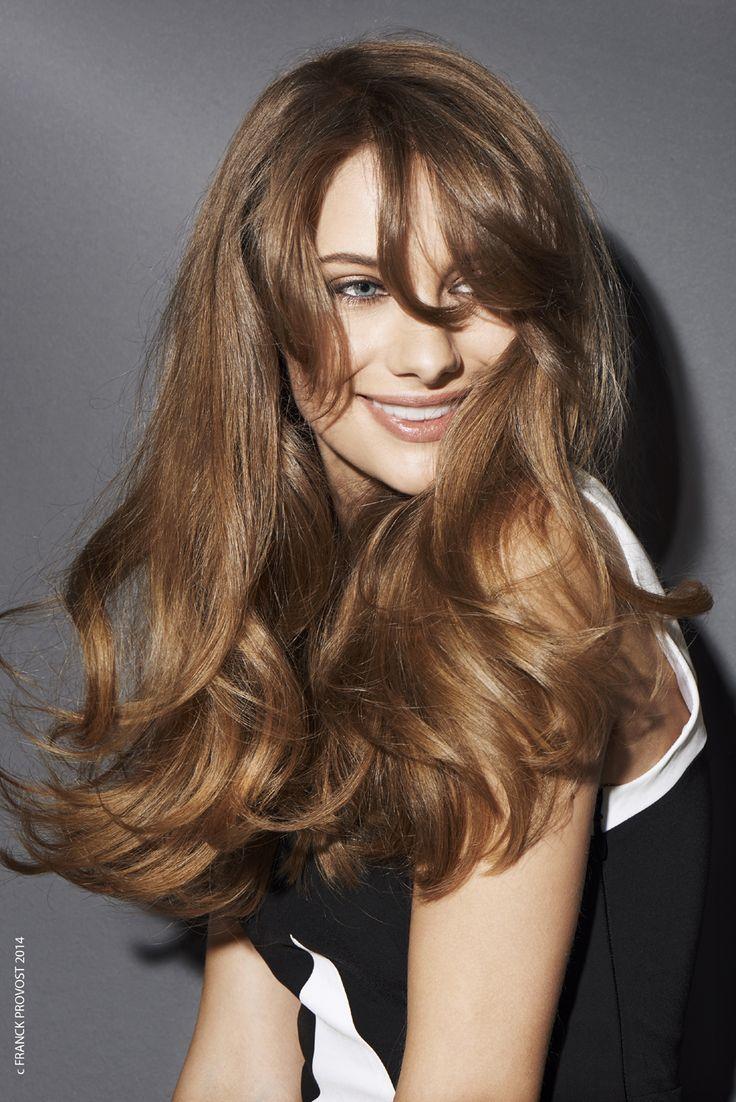 Taglio capelli lunghi ondulati Franck Provost inverno 2014 2015