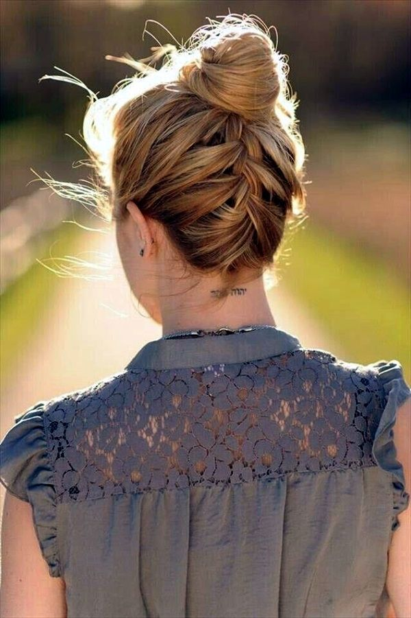 Phenomenal 1000 Ideas About Medium Length Updo On Pinterest Fine Hair Updo Short Hairstyles Gunalazisus