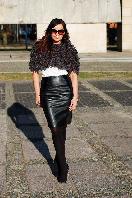 www.dashkafashion.pl wearing Mohito skirt