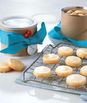 Glazed Lemon Cookies | RealSimple.com