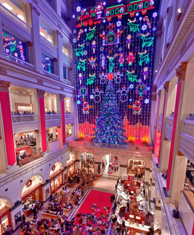 The Macy's Christmas Light Show, A Decades-Old Philadelphia Tradition, Returns For The 2012 Holiday Season On Friday, November 23, With A Special Sneak Preview On Saturday, November 17