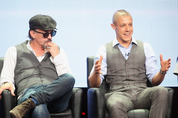 Theo Rossi and Tommy Flannigan! So adorable!