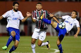 Blog Esportivo do Suíço:  Flu e Cruzeiro ficam no empate e perdem chance de voltar ao G-6