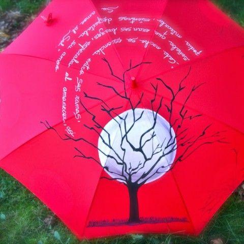 17 mejores im genes sobre paraguas pintados en pinterest - Sombrilla de mano ...