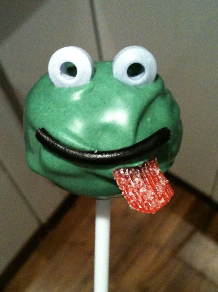 Frog cakepop
