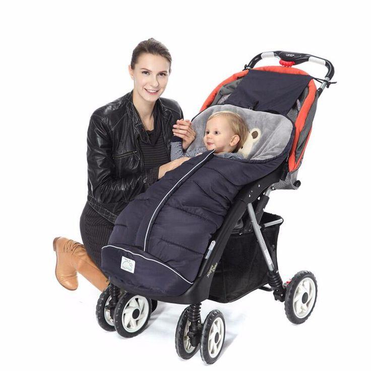 Winter Sleeping Bags Baby Envelope For Stroller Newborn Stroller Sleeping Bags Infant Winter Envelonp kids Pram Sleepsacks 0-24M
