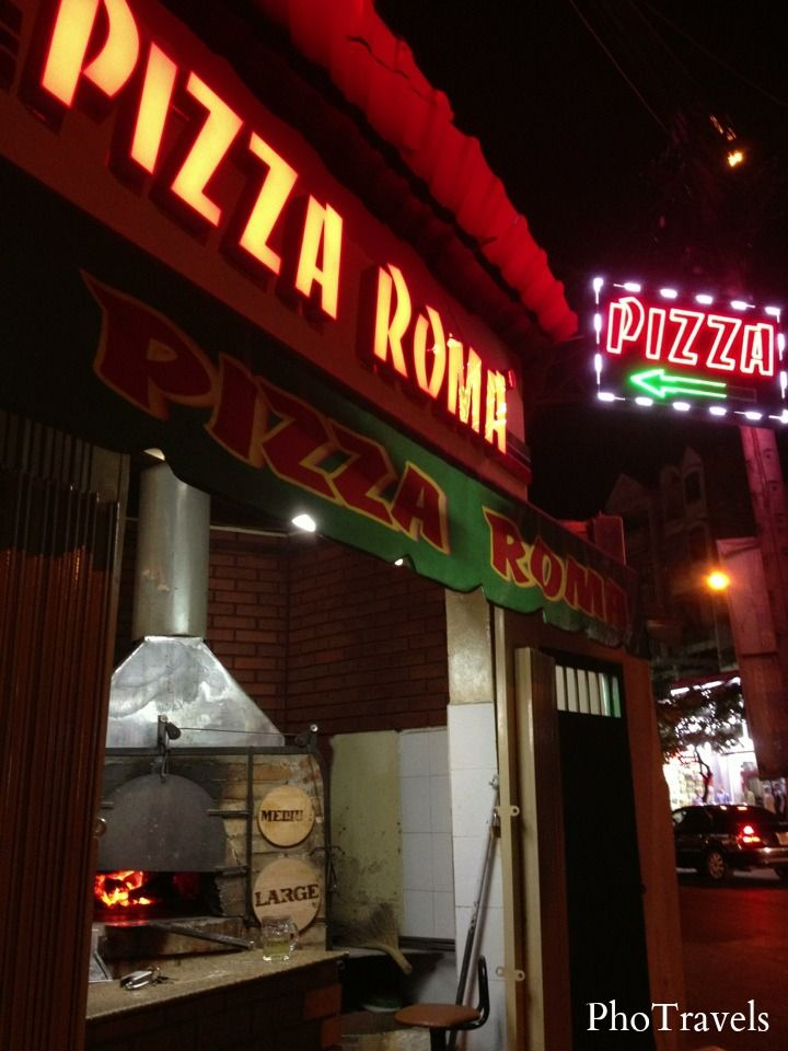 Pizza Roma in Ho Chi Minh City #PhoTravels #VietnameseCuisine #Vietnam