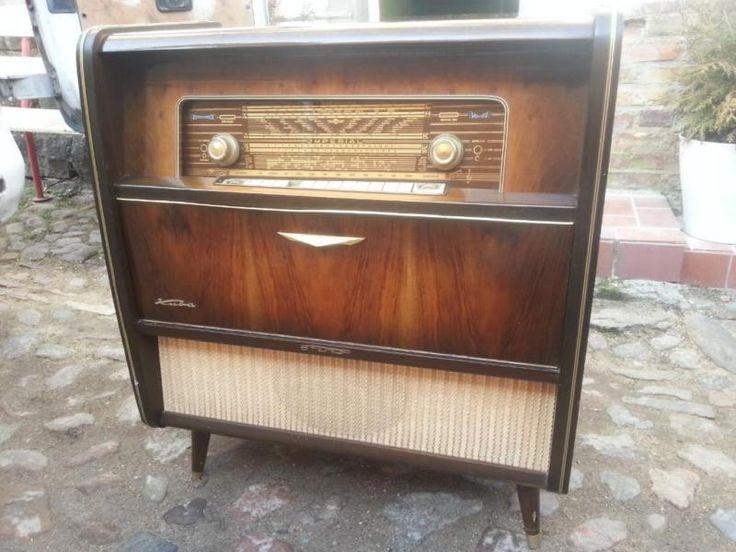 sehr schicker und originaler musikschrank aus den 1950 1960er