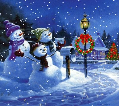 Snowman Wallpaper For Computer