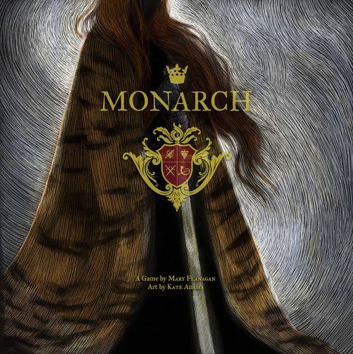 Monarch board game by Mary Flannagan