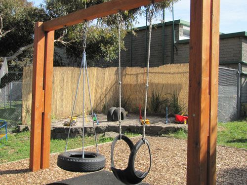 how to build a frame for tire swing woodworking projects