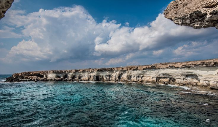 Going for a ride around Ayia Napa (Cyprus) to see the sightseeings. This photo is taken in Sea Caves just some miles away from Ayia Napa resort as i was going to the famous Cavo Greco!