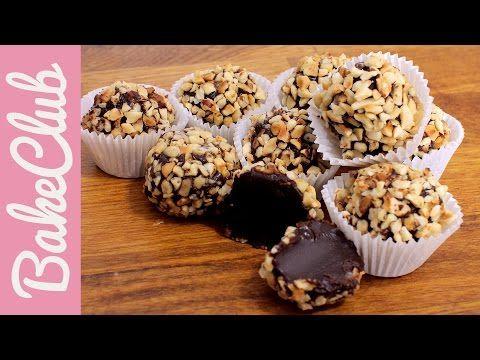 Cookie Dough Pralinen (Keksteig-Pralinen) | BakeClub - YouTube
