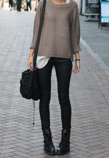 1000 ideas about biker boots outfit on pinterest biker boots olivia palermo winter style and. Black Bedroom Furniture Sets. Home Design Ideas
