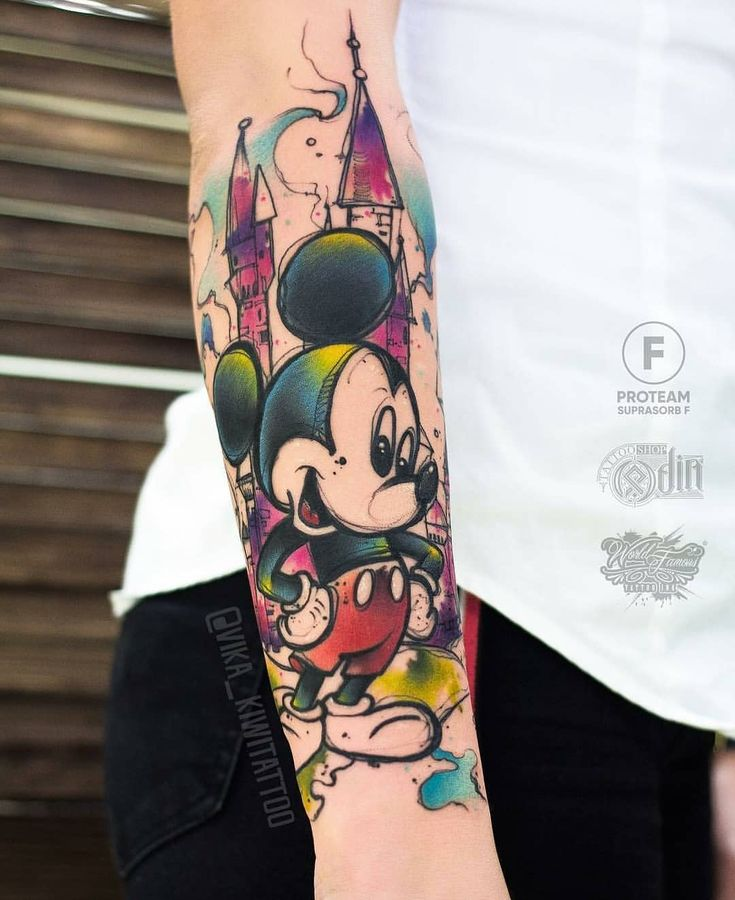 "Like 8,048 times, 99 comments – Disney Tattoos Worldwide (@disneytattooart) on Instagram: ""Done by @vika_kiwitattoo from Moscow! Go follow @vi …"