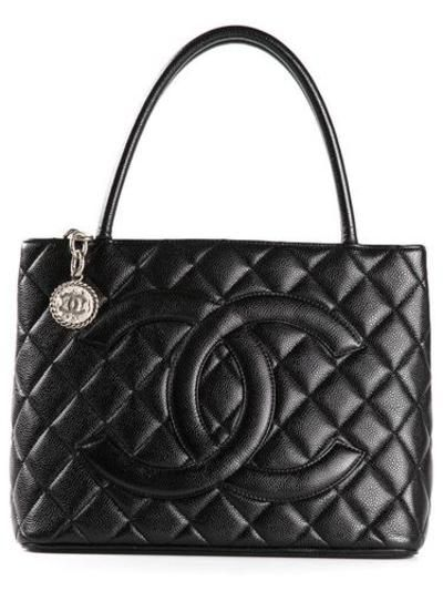 #covetmeCHANEL VINTAGE medallion tote #accessories #chanel #women #designer #covetme #chanelvintage