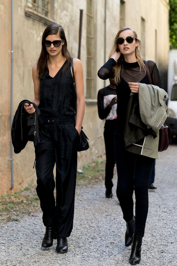 Milan Fashion Week SS17: Models Off Duty @sommerswim