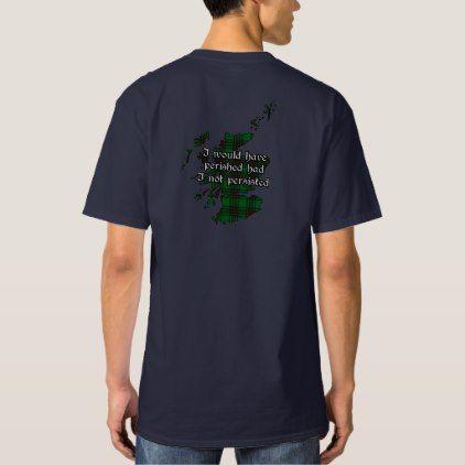 #Anstruther Clan Badge and Tartan Men's Tall T-Shirt - #familyreunion #family #reunion