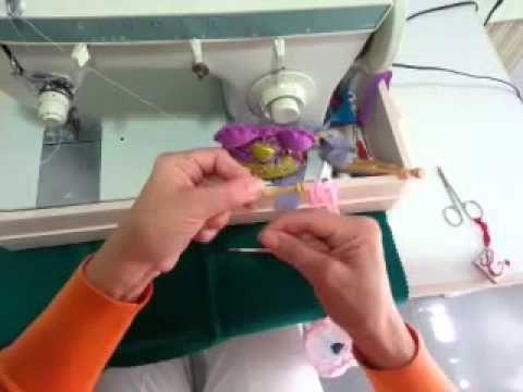 Tutorial de cómo enrrollar bolillos con máquina de coser