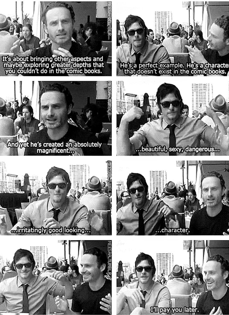 andrew lincoln and norman reedus dating