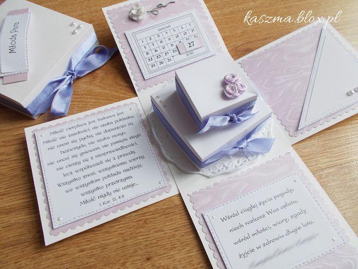 Kącik różności, wedding exploding box