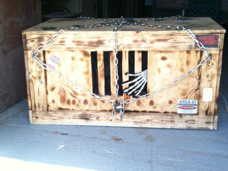 Pirate Cage Haunted House Diy Props Inspire Fall