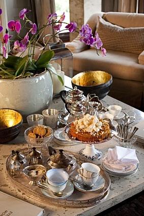 Sirai House- tea