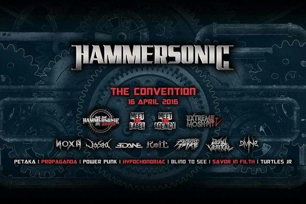 Pertama Hammersonic Gelar Metal Awards