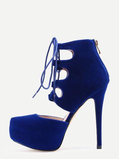 Zapatos azul marino Tacón de aguja para mujer  Color Dorado si4HsFkkxU
