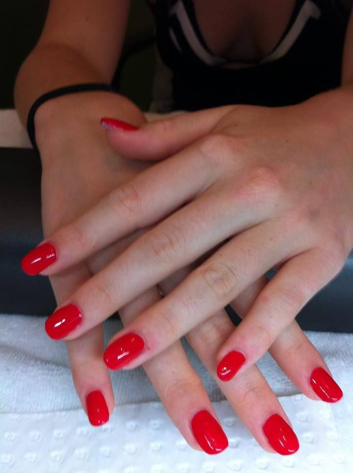 Classic Nails: 1000+ Images About Double Team + Dynamicpunch (Red Acrylic