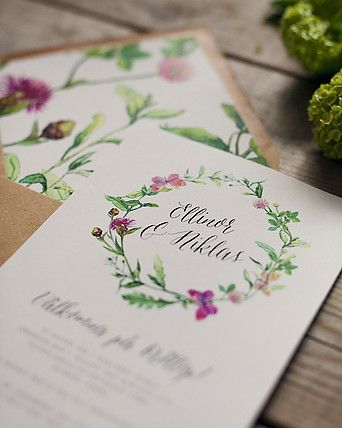 Lovelyprints Bröllopsinbjudningar